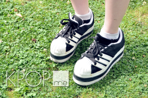 Fan Fashion At BTS ADIDAS Platforms