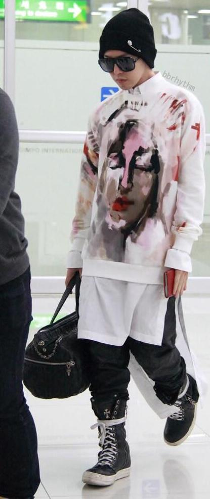 G-Dragon Airport Fashion
