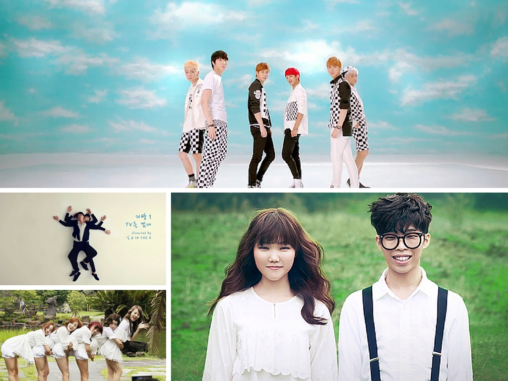 7 Uniquely Shot K-Pop Music Videos Feat.