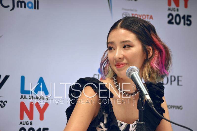 Irene Kim KCON 15 LA KultScene