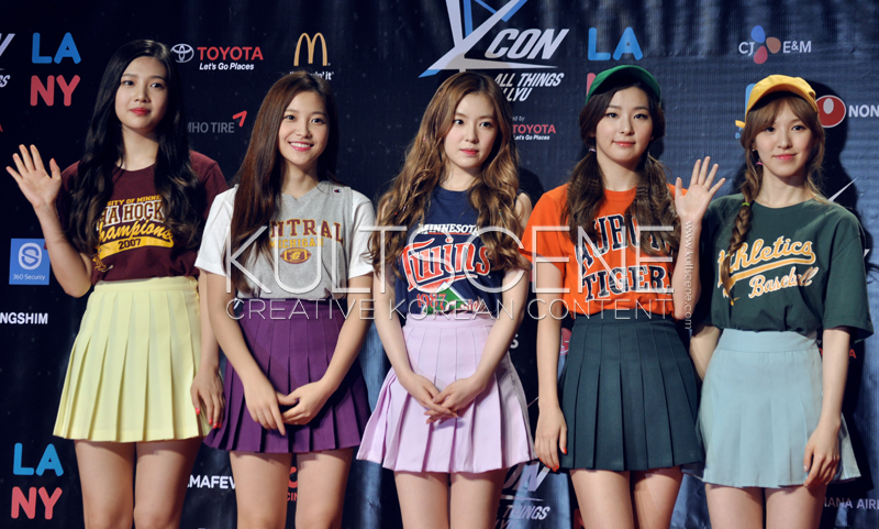 Red Velvet  KCON 15 LA KultScene Red Carpet