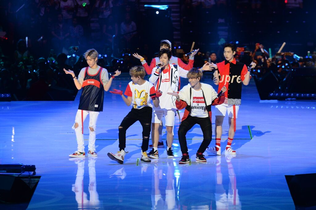 got7 kcon la los angeles 2015
