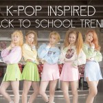 K-Pop Inspired Back to School Trends