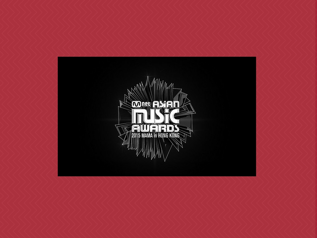 MAMA 2015 Mnet Asian Music Awards
