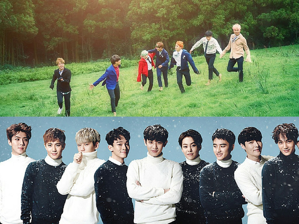 "EXO ""Sing For You"" BTS ""Whalien 52"""
