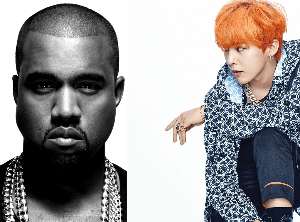 G-Dragon and kanye
