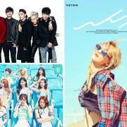 taeyeon bigbang twice jyp yg sm