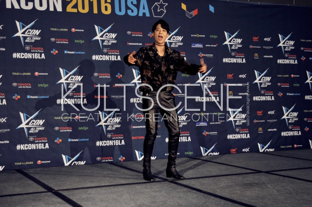 amber kcon 2016 los angeles red carpet