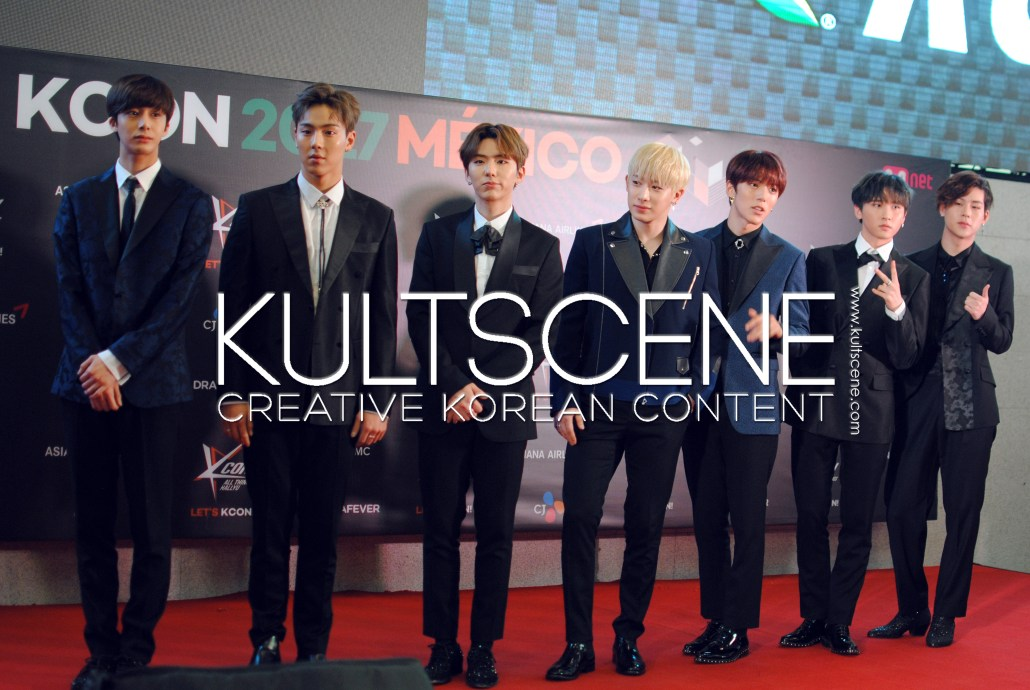 kcon mexico 2017 monsta x red carpet mx 17 kpop