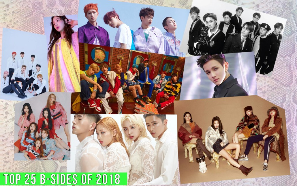 best top kpop k-pop b-sides bsides 2018 19