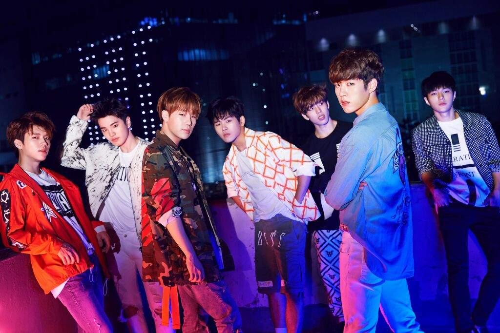 K-pop boy band INFINITE promotional image