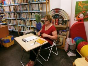 Lesung in der Bibliothek