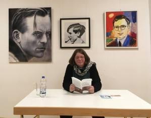 Jutta Schubert Bild von einer Lesung