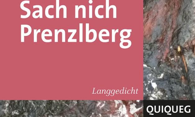 Sach nicht Prenzlberg und andere gute Literatur