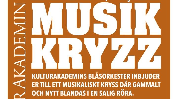OBS! Nytt datum för Musikkryzz