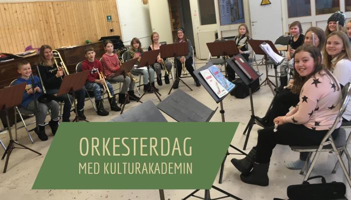 Orkesterdag för de yngre musikerna