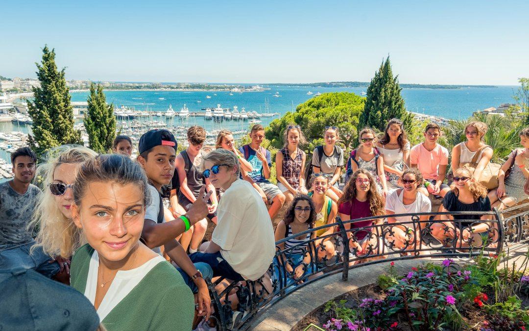English Camp à Antibes avec Horizons du Monde