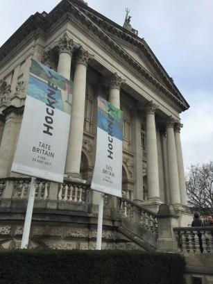 David Hockney-Ausstellung in der Tate Britain im Februar 2017