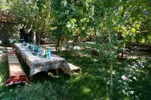 Mittagessen im Grünen