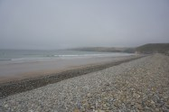 In Newgale am Strand