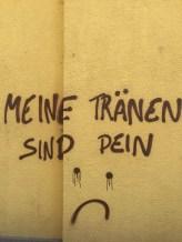 Streetart in Wien im August 2018