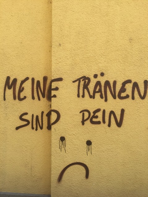 Streetart in Wien im August 2018