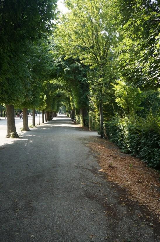 Der wunderschöne Schlosspark des Schlosses Schönbrunn