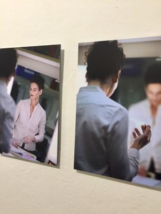 """2013 porträtierte die Fotografin Cordula Treml die Schauspielerin Bibiana Beglau für ihr Langzeitprojekt """"Vor dem Auftritt"""""""