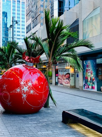 Kitschy Auckland right after I arrived in New Zealand on December 18th 2018