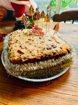 Christmas cake at Tora