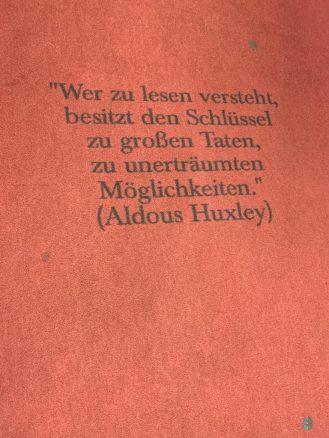 Weise Worte in der Mayerschen Buchhandlung Dortmund