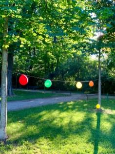 Luftballons im Luitpoldpark