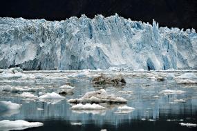 "Die Arbeit ""Im Eis"" I Ice 46, 2012, UV-Direct Print, 114 x 154 cm"