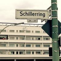 Schillerring in der Weißen Stadt