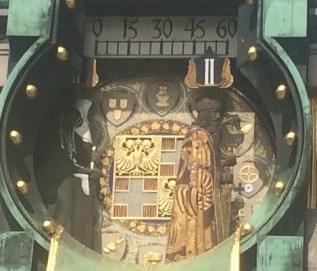 Die so genannte Anker Uhr