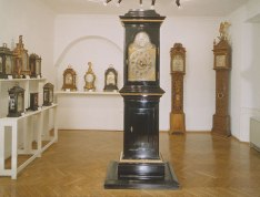 Standuhr im Wiener Uhrenmuseum