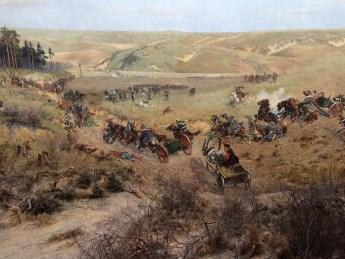 """Detailansicht aus dem """"Panorama von Racławice"""""""