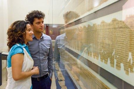 Zu Gast im Papyrusmuseum