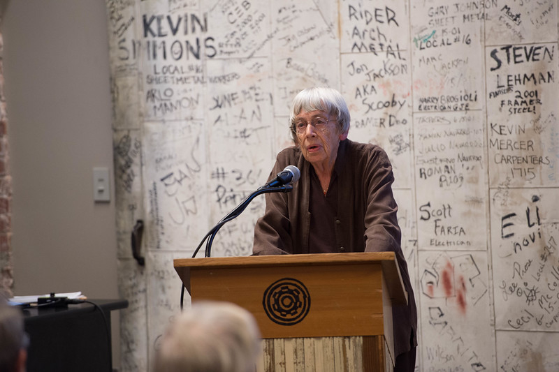 Ursula Le Guin by Win Goodbody | www.wingoodbody.photography