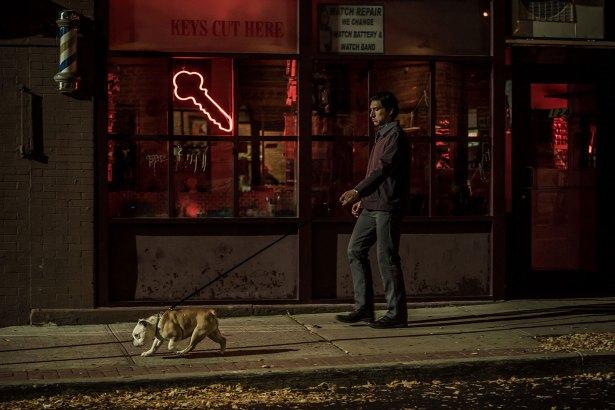 Jeden Abend spaziert Paterson mit Hund zur Bar