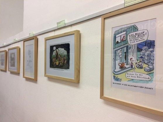 """Galerie der """"Komische Künste"""""""