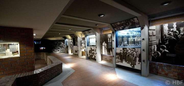Blick in den hinteren Ausstellungsbereich der alten Präsentation. Foto: HBF/MINICH