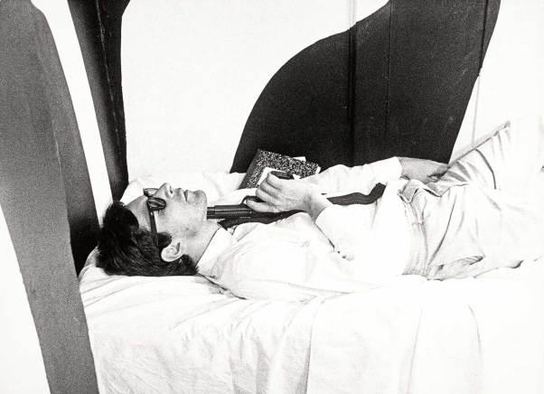 Alfons Schilling Standfoto aus dem Film 9XL – Es war einmal, 1965 35mm, sw, Ton, 13 Min. © Nachlass Alfons Schilling