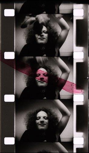 Alfons Schilling Kader aus dem Film Jackie Curtis, 1970 16mm, sw, ohne Ton, 1:10 Min. © Nachlass Alfons Schilling