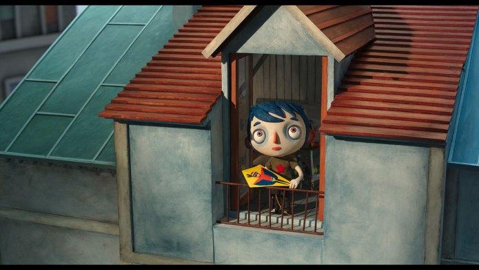 Zucchini auf dem Dachboden im Haus seiner Mutter