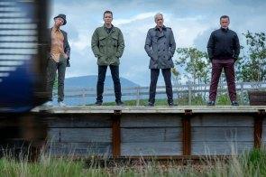 v.l.n.r.: Spud (Ewen Bremner), Renton (Ewan McGregor), Sick Boy (Jonny Lee Miller) und Begbie (Robert Carlyle) © 2016 Sony Pictures Releasing GmbH