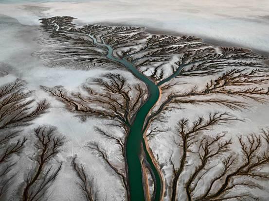 Colorado River Delta 2 2011 c) Edward Burtynsky Courtesy Admira Milano