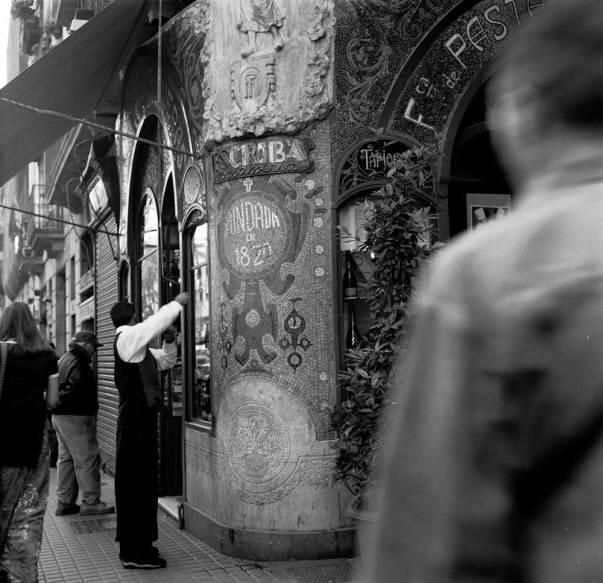 Art Déco Rundgang in Barcelona © Serge Brison