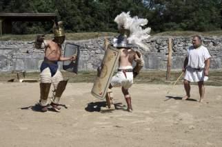 Gladiatoren in Carnuntum 2013 © AKP/Heuber