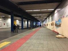 """Rundgang im """"Unterirdischen Bahnhof"""""""